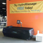 HydroMassage Water Massage Bed in Fitness Center
