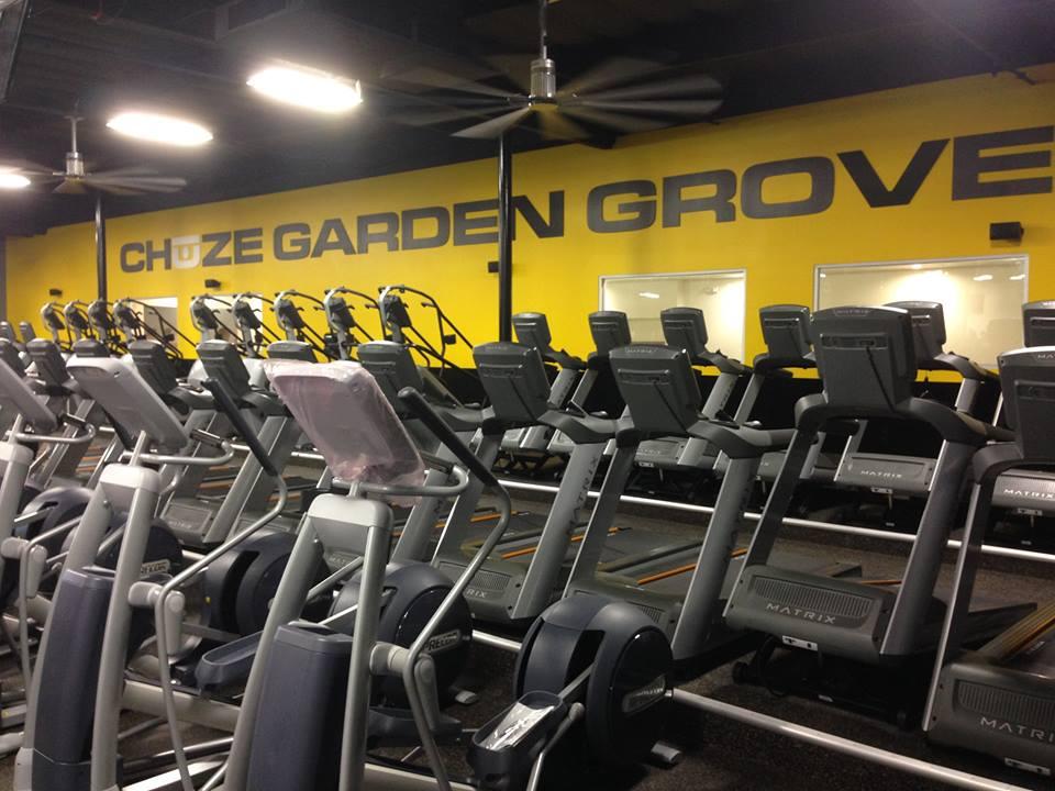 Chuze Fitness, Garden Grove, CA has 7 HydroMassage Beds