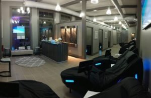 Jenspa interior hydromassage zone