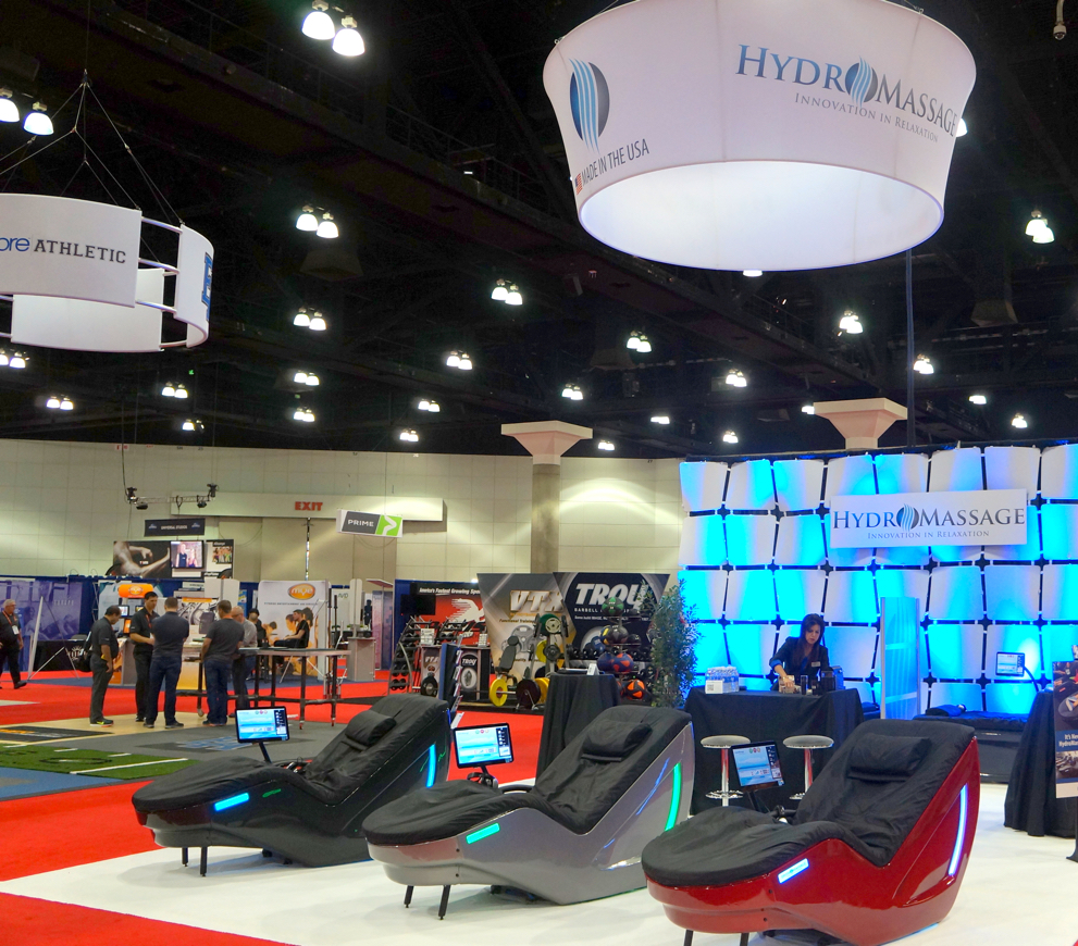 HydroMassage showroom floor
