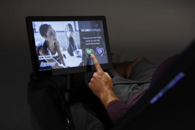 HydroMassage Touchscreen Software