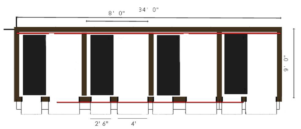 2D Image of Room Layout